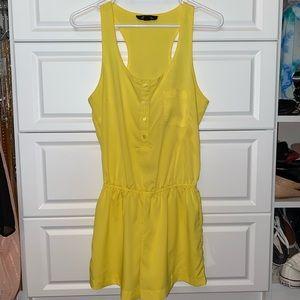 Yellow Romper